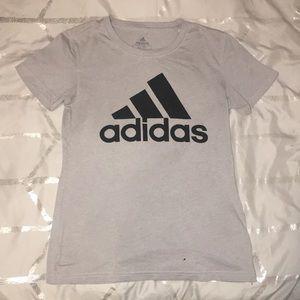 XS Grey Adidas Go-to Tee